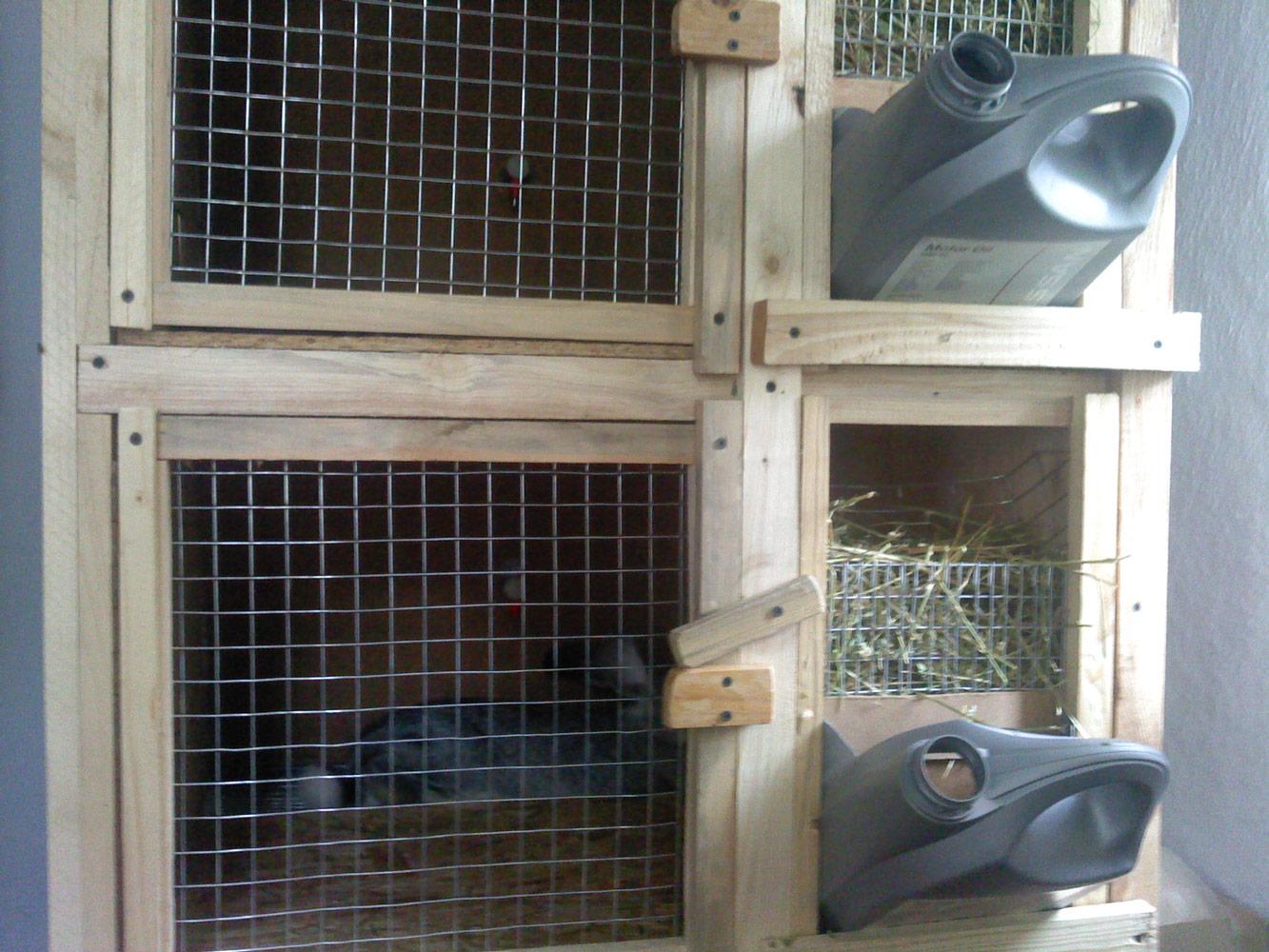 Кормушки для кроликов своими 49